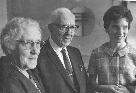Gracia Jones with Joseph Fielding Smith