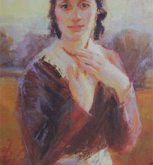 All Things Dear Painting of Emma Smith by Julie Rogers