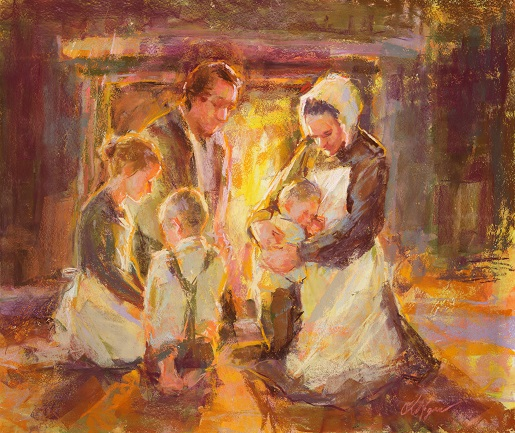 Joseph Smith Family Prayer